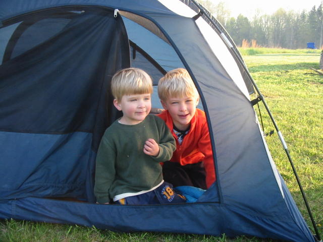 The Family Traveler's Handbook Camping with kids