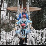 Year-round ziplining at Smuggler's Notch is fun for the whole family