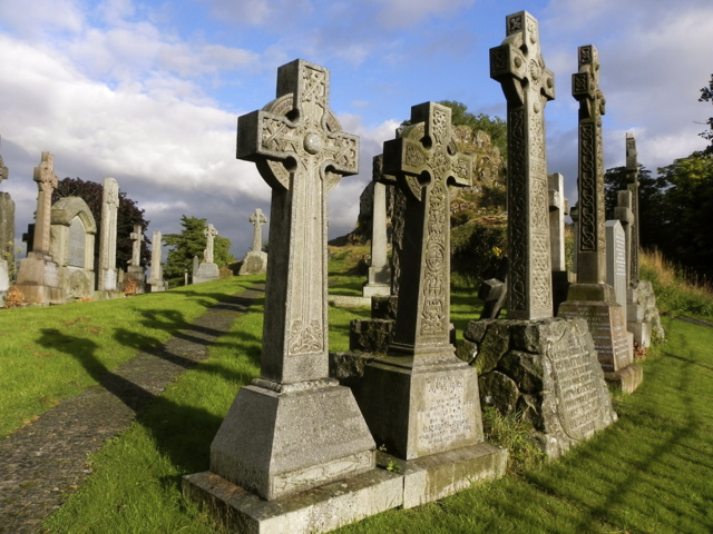 Stirling Scotland Celtic Crosses