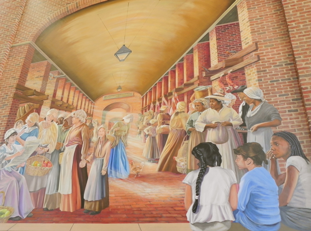 Indepedence Visitor Center Mural