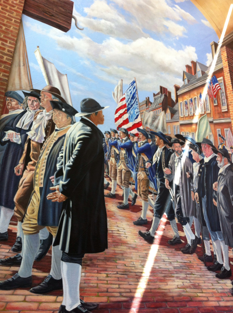 Mural Independence Visitor Center