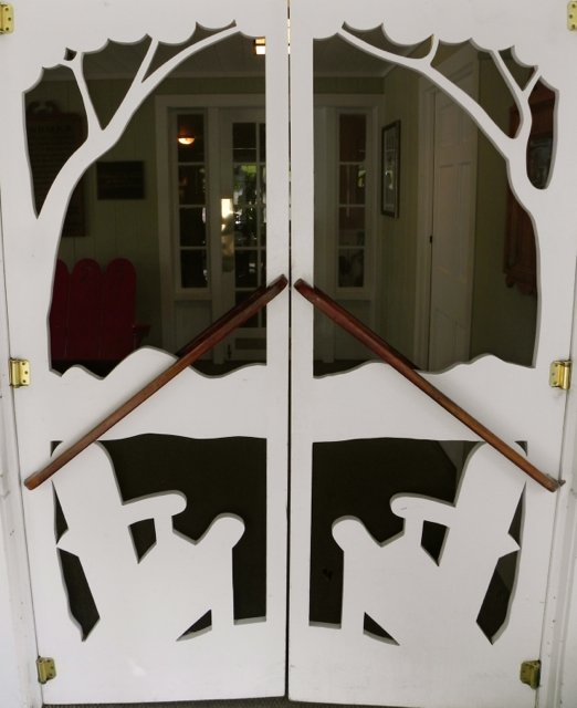 Basin Harbor screen door