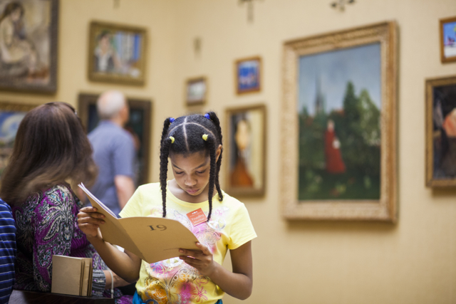 The Barnes Foundation gallery