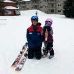 The youngest skiers can learn to turn at Smuggs' Snow Sports University
