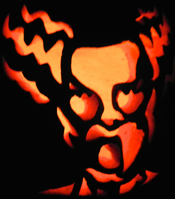 Great Jack O'Lantern Blaze Bride Frankenstein