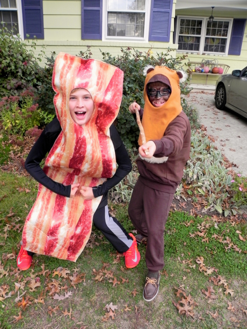 Bacon Halloween Costume