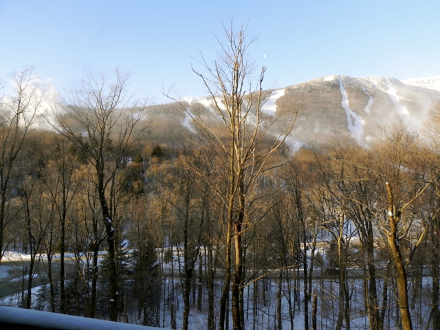 Stowe Mountain Lodge view