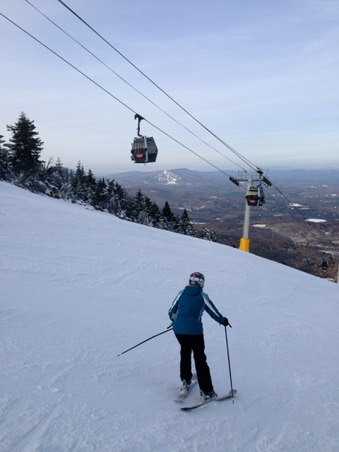 Skiing Stratton Mountain Resort