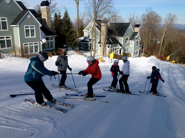 Women on Snow Camp Stratton Vermont
