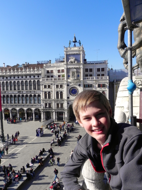 School and family travel in Venice