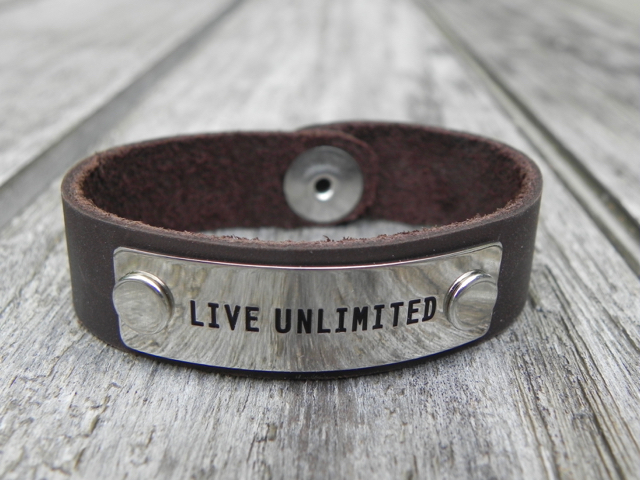 #LiveUnlimited Endorphin Warrior bracelet