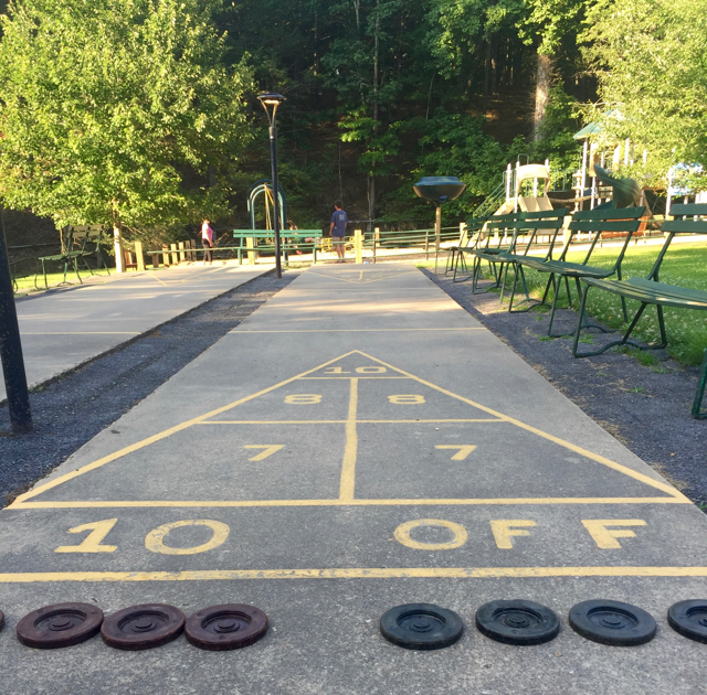 Capon Springs Resort Shuffleboard