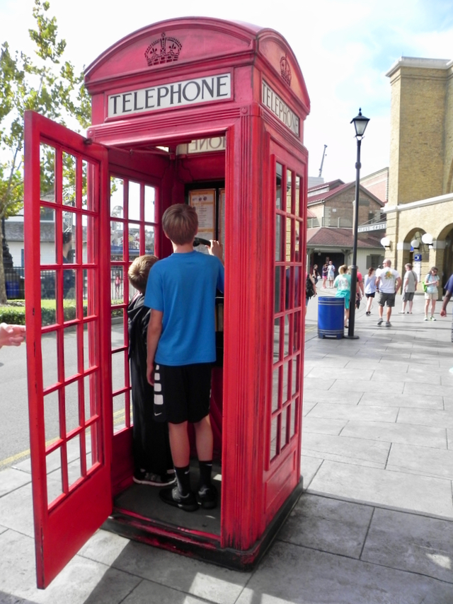 Phone Booth Wizarding World of Harry Potter Universal Orlando