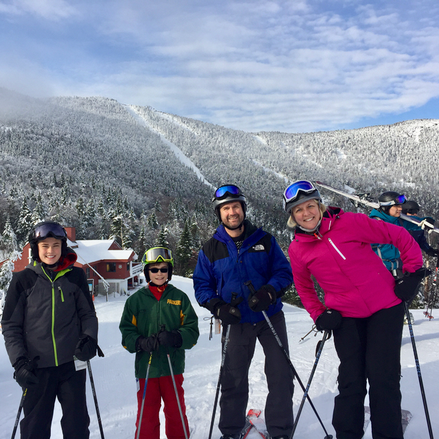 Family Ski Trip Thanksgiving